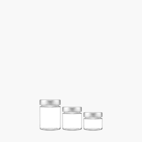 Glass Jars for Food - Vetroelite